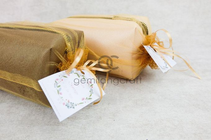 premium boxy pouch packaging tille for Esa & Syarif by Gemilang Craft - 001