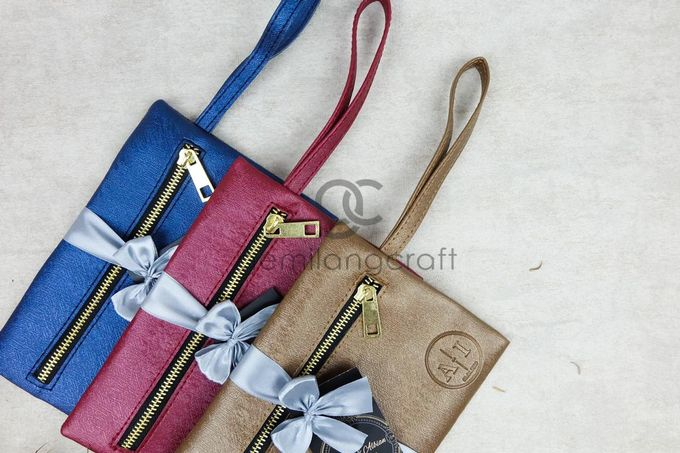 dakota pouch packaging ribbon for indry & albian by Gemilang Craft - 002