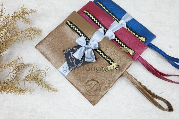 dakota pouch packaging ribbon for indry & albian by Gemilang Craft - 003