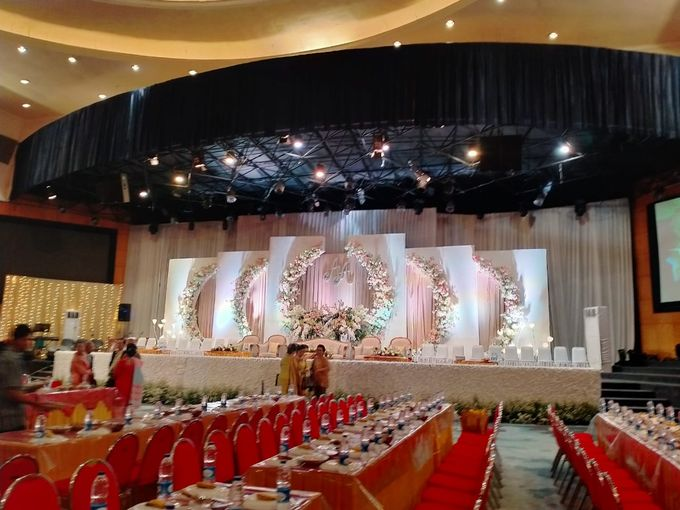 Combination  Traditional Tapanuli and Mixed Modern Wedding Reception by Dome Harvest - 027