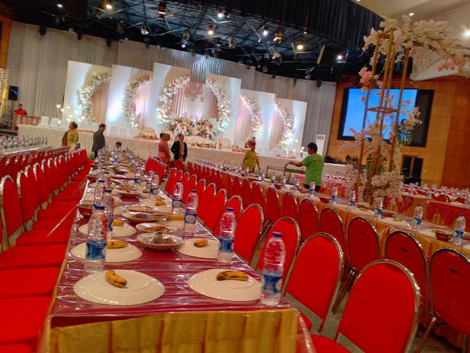 Combination  Traditional Tapanuli and Mixed Modern Wedding Reception by Dome Harvest - 025