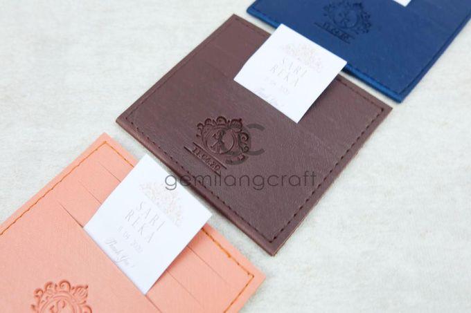 card wallet for sari & reka by Gemilang Craft - 001