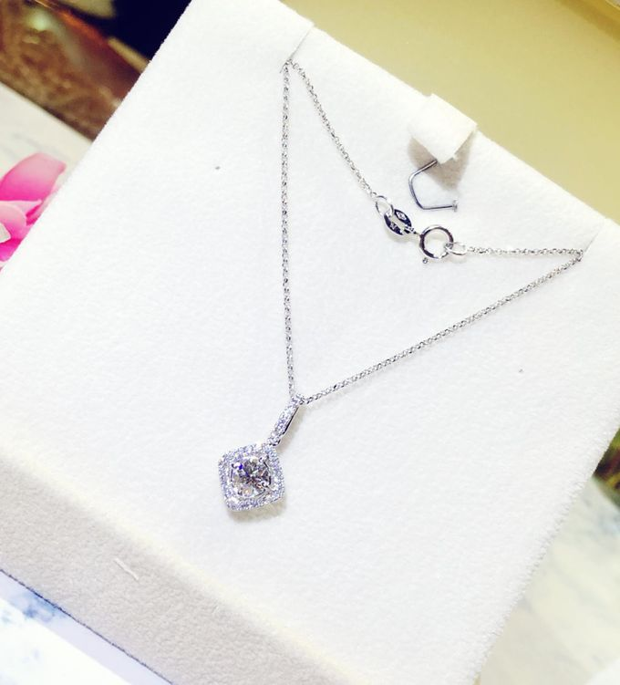 Pendants and Necklaces - From Heart to Heart 2 by eClarity Diamonds - 003
