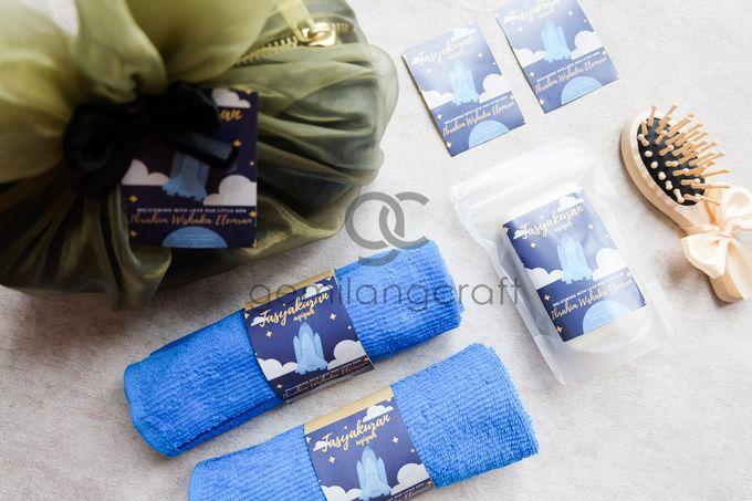 boxy premium packaging organdi for tasyakuran ibrahim wishaka by Gemilang Craft - 001