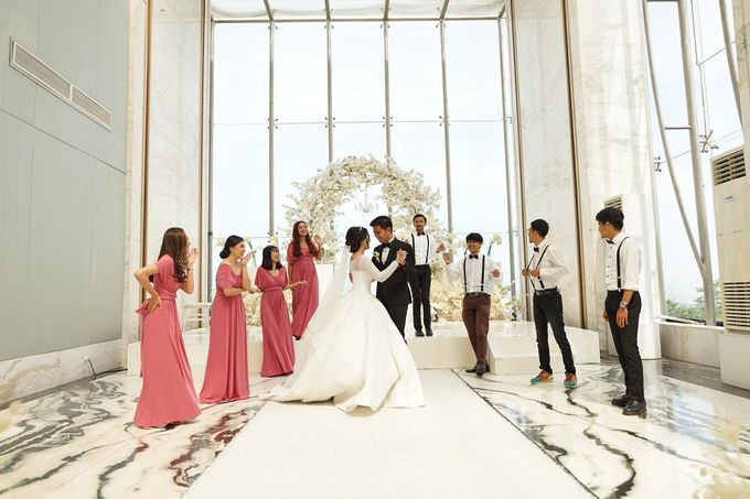 Veby & Banial Wedding Decoration by Valentine Wedding Decoration - 046