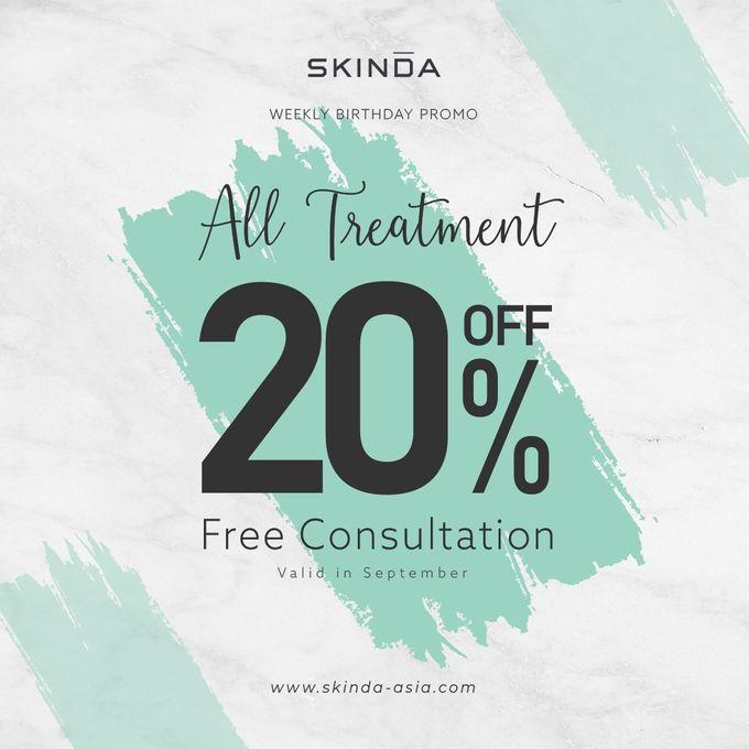 Promo by SKINDA Medical Skin Care & Dermatology Center - 002