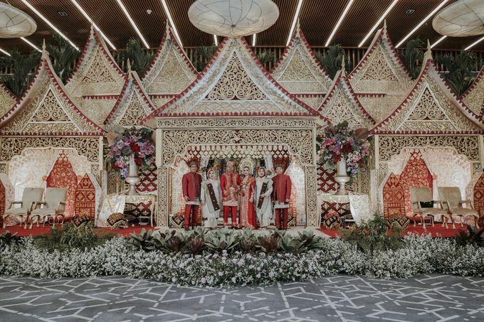 The Wedding of Rizki dan Melisa by  Menara Mandiri by IKK Wedding (ex. Plaza Bapindo) - 003