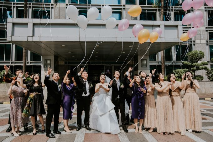 INTERNATIONAL WEDDING OF ANDRYAN & CALANDRA by Skenoo Hall Emporium Pluit by IKK Wedding - 002