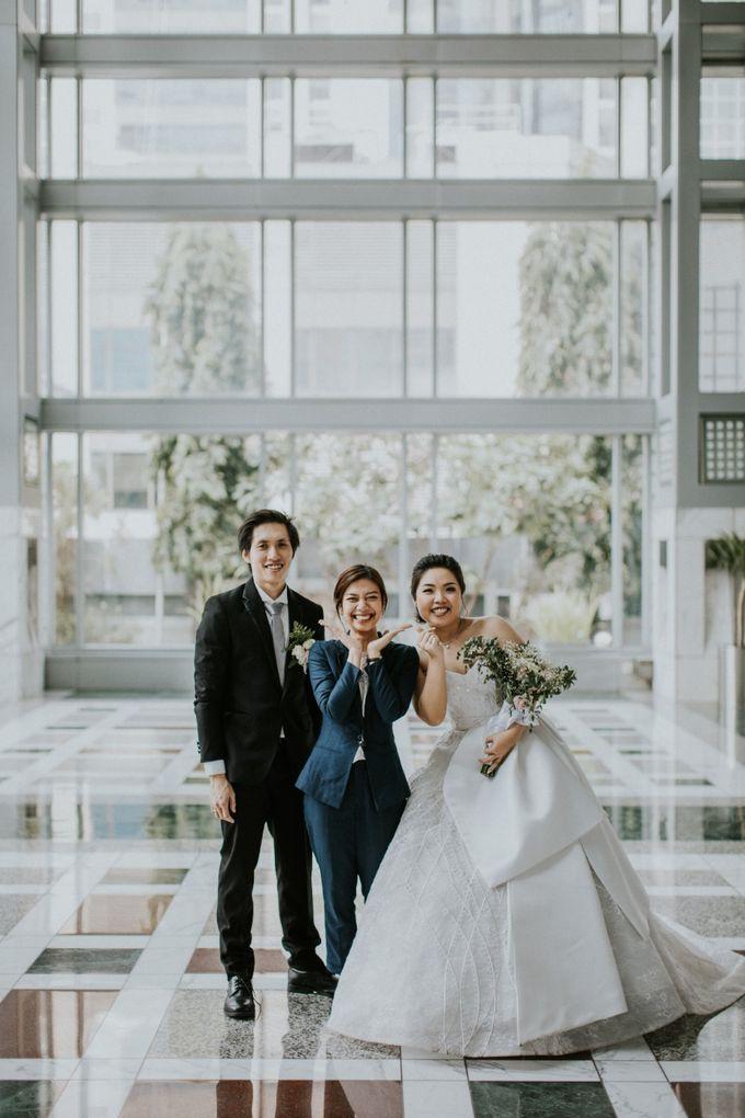 INTERNATIONAL WEDDING OF ANDRYAN & CALANDRA by Skenoo Hall Emporium Pluit by IKK Wedding - 005