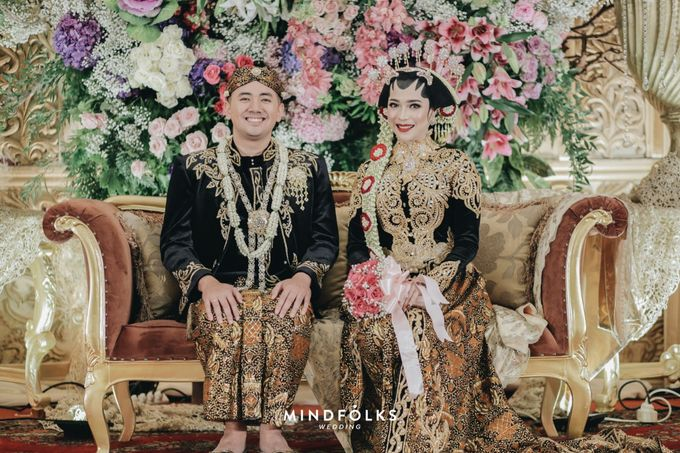 Javanese Wedding of Trian dan Amira by  Menara Mandiri by IKK Wedding (ex. Plaza Bapindo) - 002
