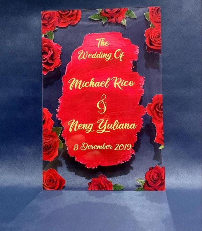 wedding sign by Veddira Souvenir - 004