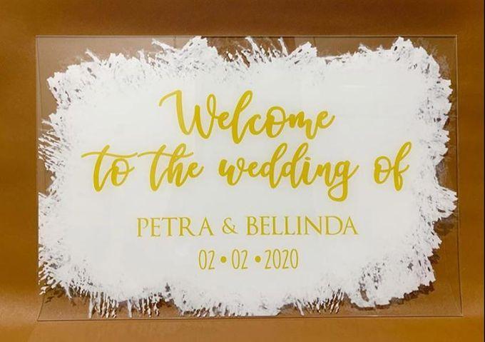 wedding sign by Veddira Souvenir - 001