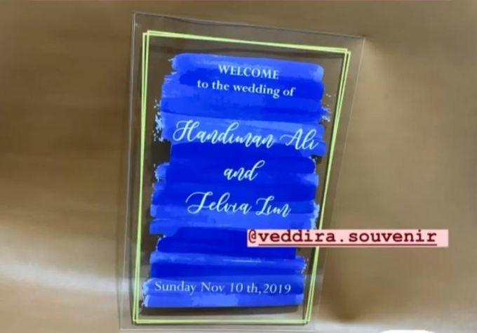 wedding sign by Veddira Souvenir - 003