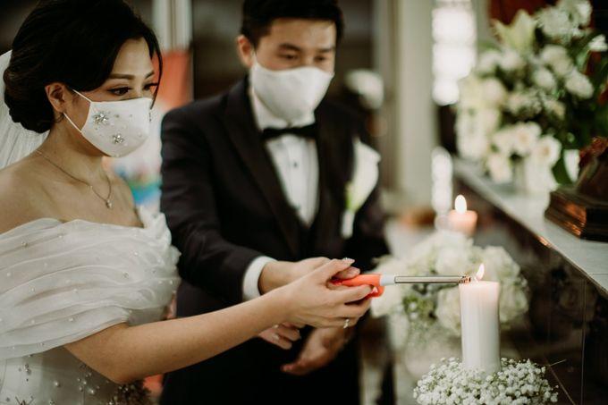 Holy Matrimonity of Bima & Irene by Skenoo Hall Emporium Pluit by IKK Wedding - 005