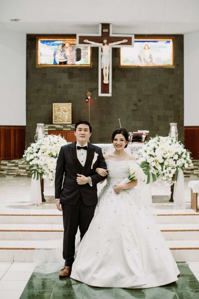 Holy Matrimonity of Bima & Irene by Skenoo Hall Emporium Pluit by IKK Wedding - 006