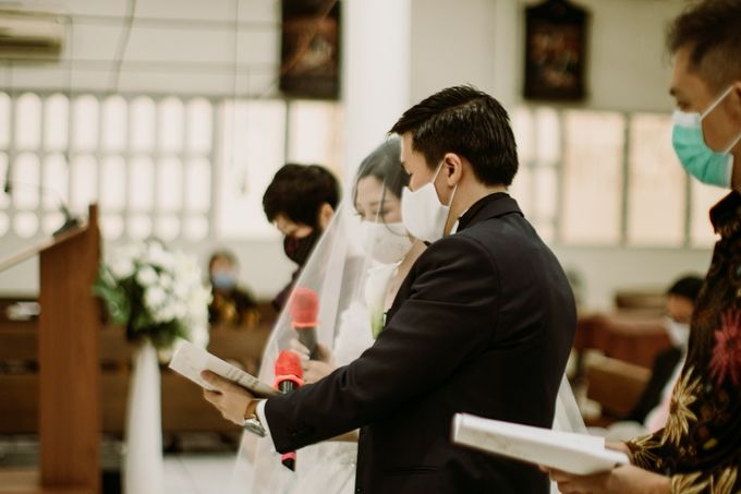 Holy Matrimonity of Bima & Irene by Skenoo Hall Emporium Pluit by IKK Wedding - 008