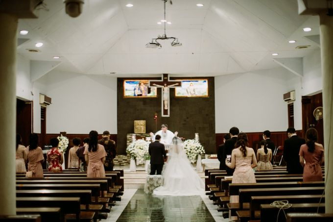 Holy Matrimonity of Bima & Irene by Skenoo Hall Emporium Pluit by IKK Wedding - 009