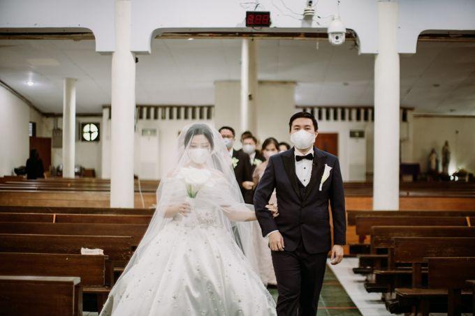 Holy Matrimonity of Bima & Irene by Skenoo Hall Emporium Pluit by IKK Wedding - 010