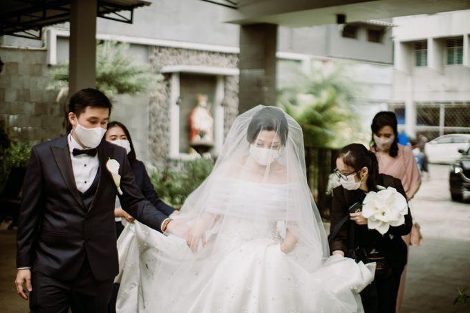 Holy Matrimonity of Bima & Irene by Skenoo Hall Emporium Pluit by IKK Wedding - 011