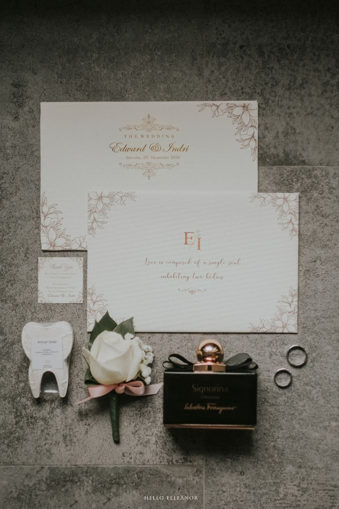 The Wedding of Edward and Indri by Hello Elleanor - 001