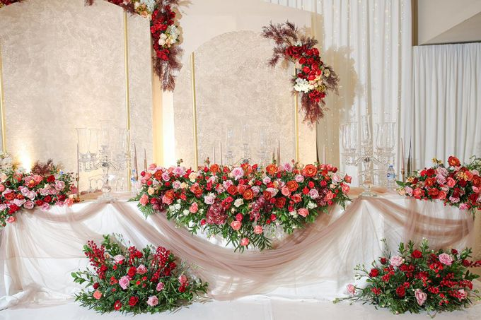 Michael & Dewi Wedding Decoration by Valentine Wedding Decoration - 005