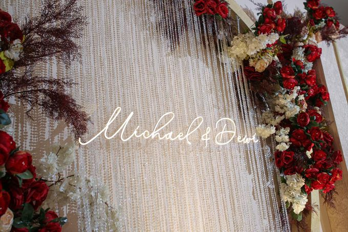 Michael & Dewi Wedding Decoration by Valentine Wedding Decoration - 007