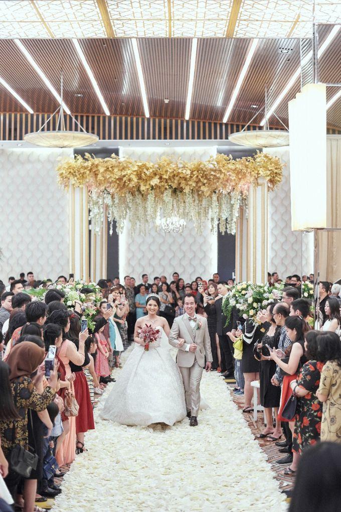 The Wedding of Michelly & Raymond by  Menara Mandiri by IKK Wedding (ex. Plaza Bapindo) - 007