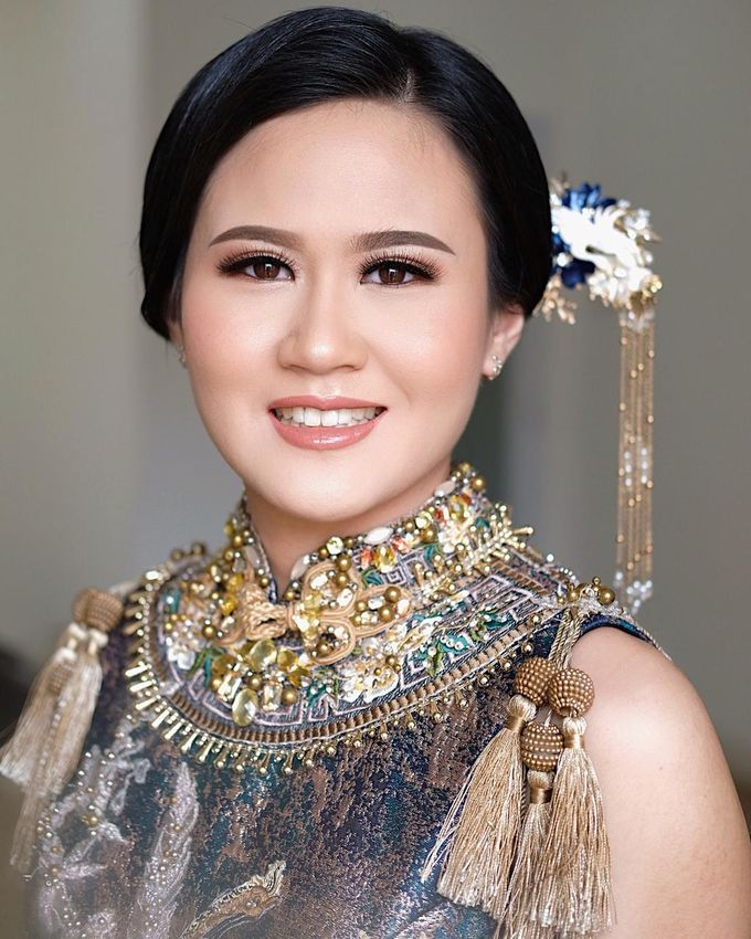 The Wedding by Brigita Indriani by VA Make Up Artist - 039