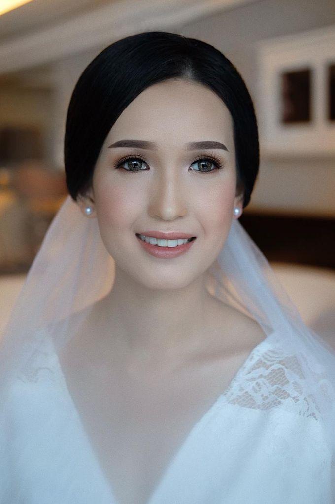 The Wedding by Brigita Indriani by VA Make Up Artist - 036