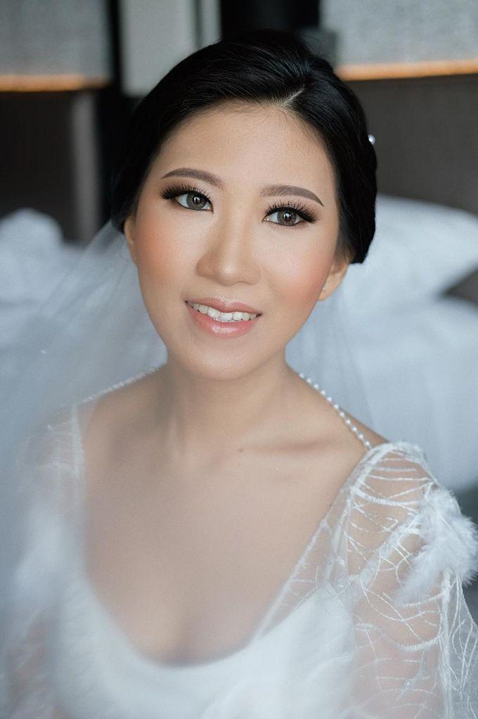 The Wedding by Brigita Indriani by VA Make Up Artist - 037