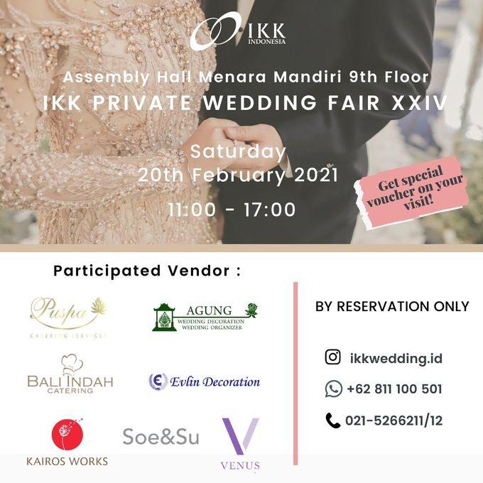 IKK Private Wedding Fair di Valentine Day, dengan Protokol New Normal Wedding! 20th Feb 2021 by  Menara Mandiri by IKK Wedding (ex. Plaza Bapindo) - 001