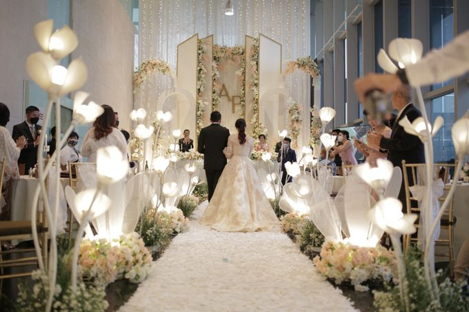 WEDDING OF ADITYA & PETRINA by La'SEINE Function Hall - 004