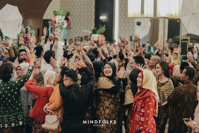 The Wedding of Amirra & Trian by  Menara Mandiri by IKK Wedding (ex. Plaza Bapindo) - 003