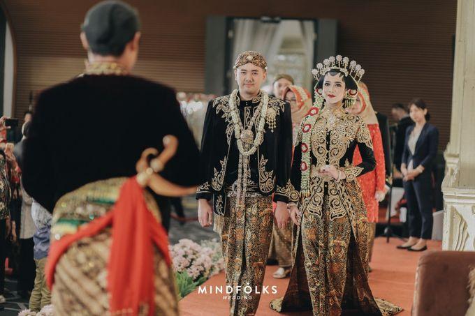 The Wedding of Amirra & Trian by  Menara Mandiri by IKK Wedding (ex. Plaza Bapindo) - 004