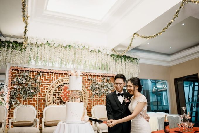 The Wedding of Kevin and Febri by Équateur Patisserie - 002
