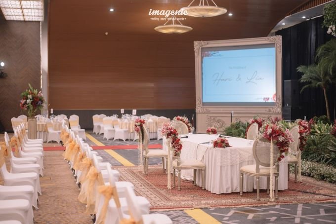 New Normal Wedding of Hari & Lia by  Menara Mandiri by IKK Wedding (ex. Plaza Bapindo) - 005