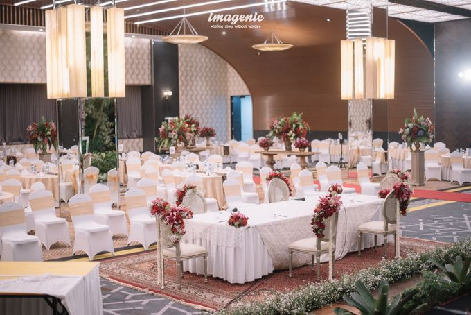 New Normal Wedding of Hari & Lia by  Menara Mandiri by IKK Wedding (ex. Plaza Bapindo) - 007
