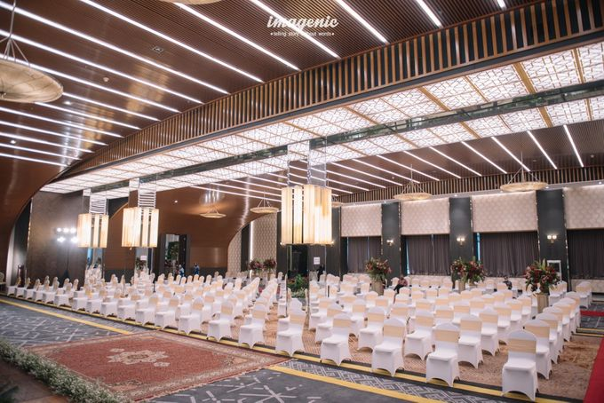 New Normal Wedding of Hari & Lia by  Menara Mandiri by IKK Wedding (ex. Plaza Bapindo) - 004