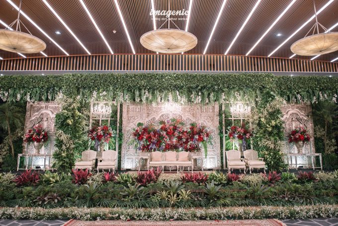 New Normal Wedding of Hari & Lia by  Menara Mandiri by IKK Wedding (ex. Plaza Bapindo) - 001