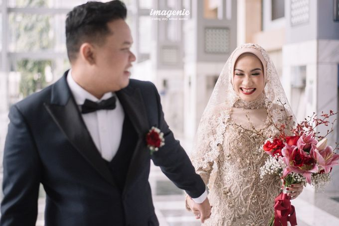 New Normal Wedding of Hari & Lia by  Menara Mandiri by IKK Wedding (ex. Plaza Bapindo) - 002