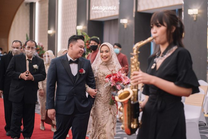 New Normal Wedding of Hari & Lia by  Menara Mandiri by IKK Wedding (ex. Plaza Bapindo) - 003