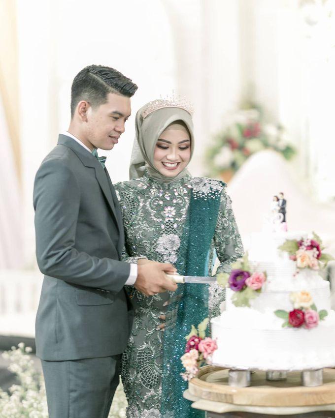 The Wedding of  Ruli & Ricky by Bojana Sari Catering - 015