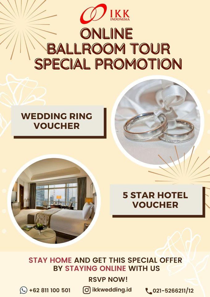 Online Ballroom Tour Special Promotion by Skenoo Hall Emporium Pluit by IKK Wedding - 001
