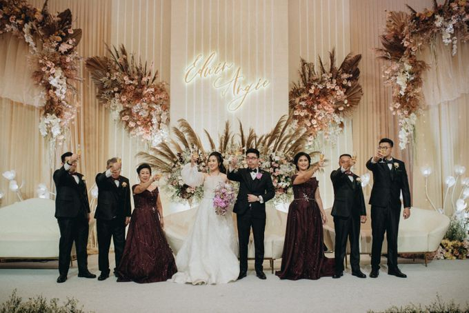 Wedding Of Edwin & Angie by De Sketsa decoration - 001