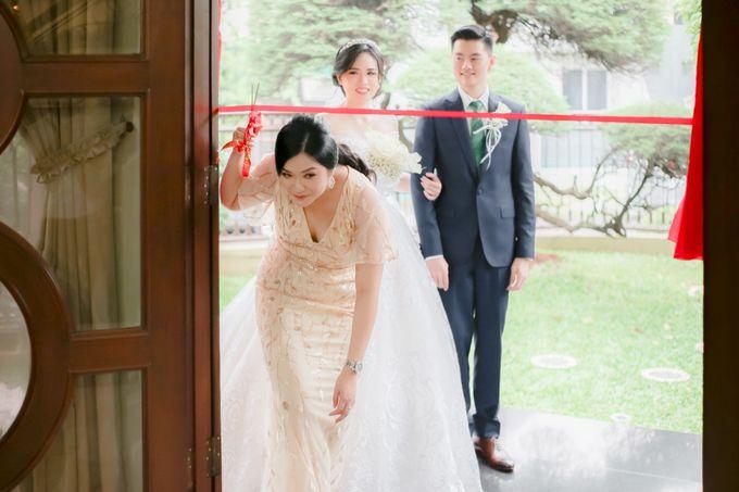 Menara Mandiri - Holy Matrimony Of Gio & Yoshi by IKK Wedding Venue - 003