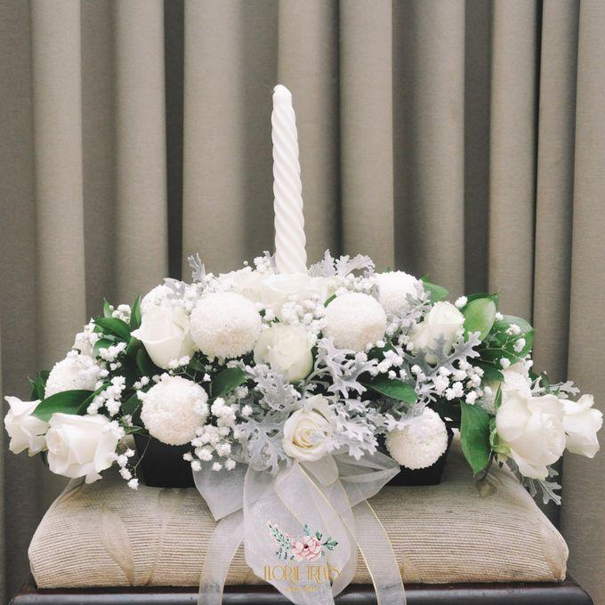 Church Arrangement for Erdick Stephanie Wedding by Floral Treats - 002