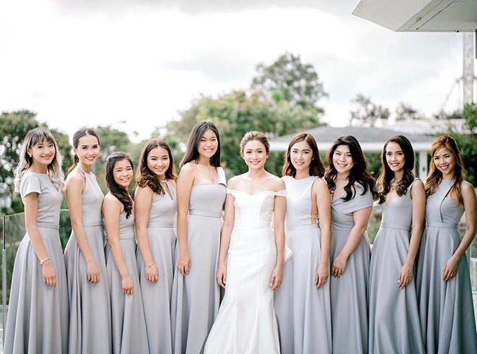Customized Bridesmaids Dresses by White Label Bridal - 026