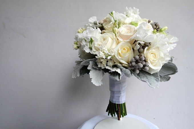 Round Bouquet Collection by Il Fiore - 021