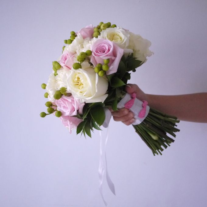 Round Bouquet Collection by Il Fiore - 022