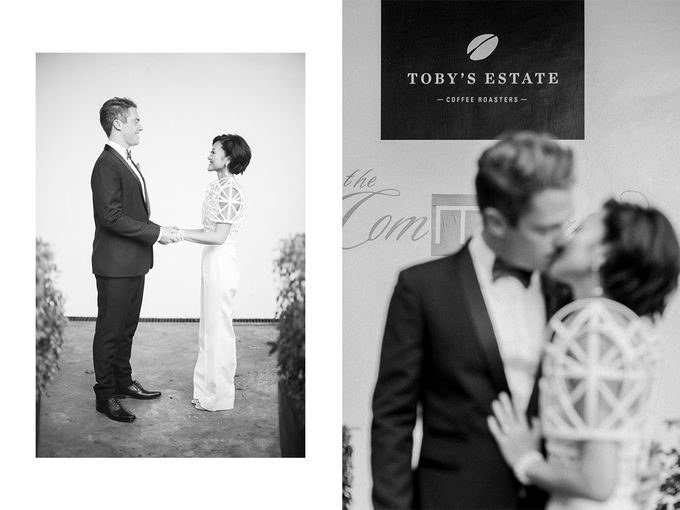 Andrea & Toby decided to do an intimate wedding with less than 50 guests. No bridesmaids/groomsmen, invitation or other details. They only had a brida by Foreveryday Photography - 049